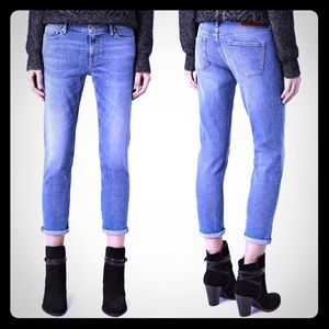 All Saints Fay Cropped Skinny Jeans